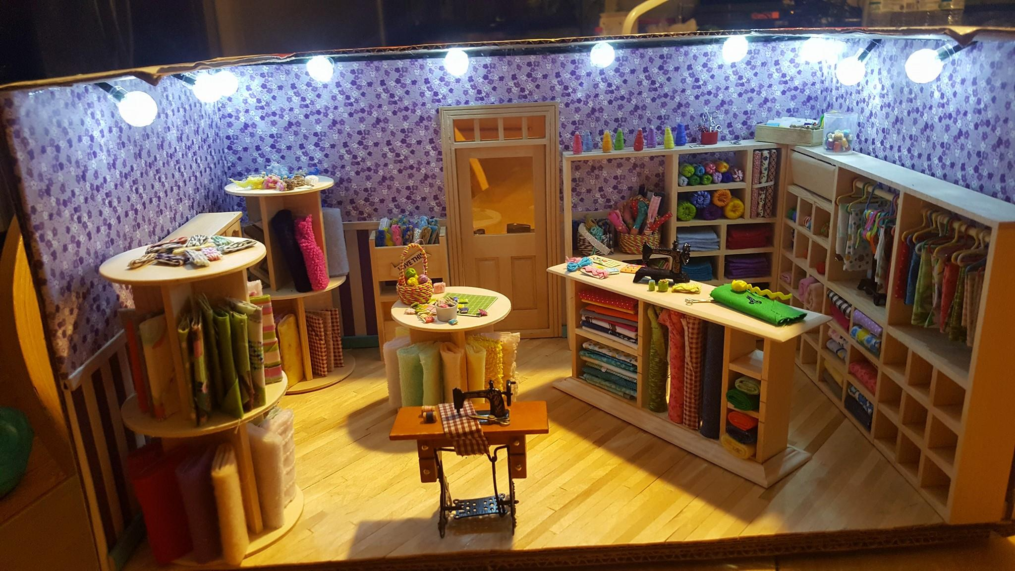 Sewing Amp Embroidering Dollhouse Miniature Madness And