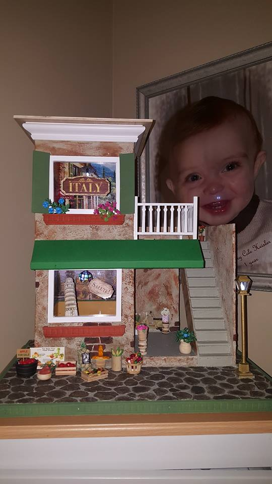 Little Italy Shop Dollhouse Miniature Madness And Tutorials