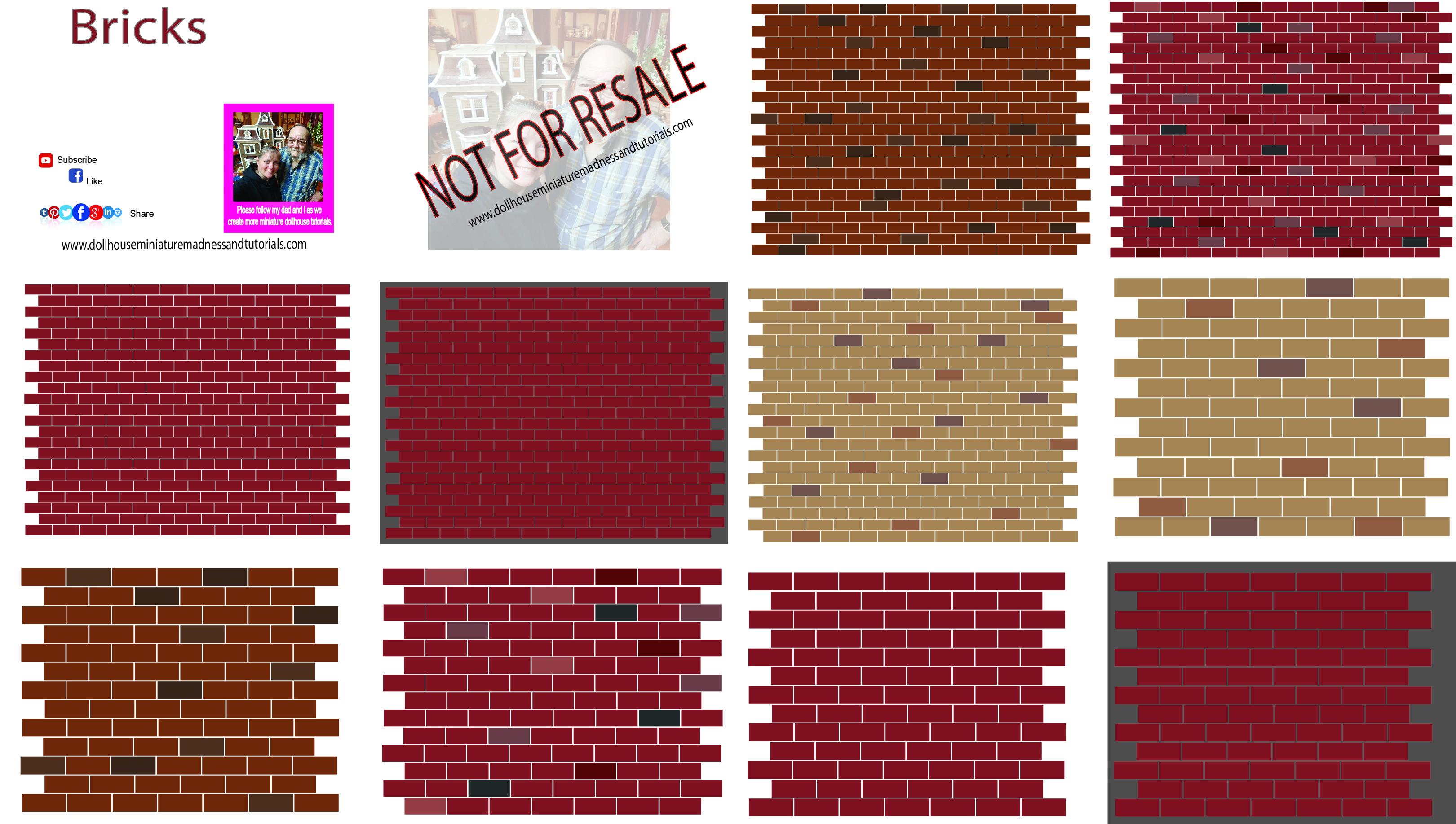 Bricks Amp Stones Dollhouse Miniature Madness And Tutorials