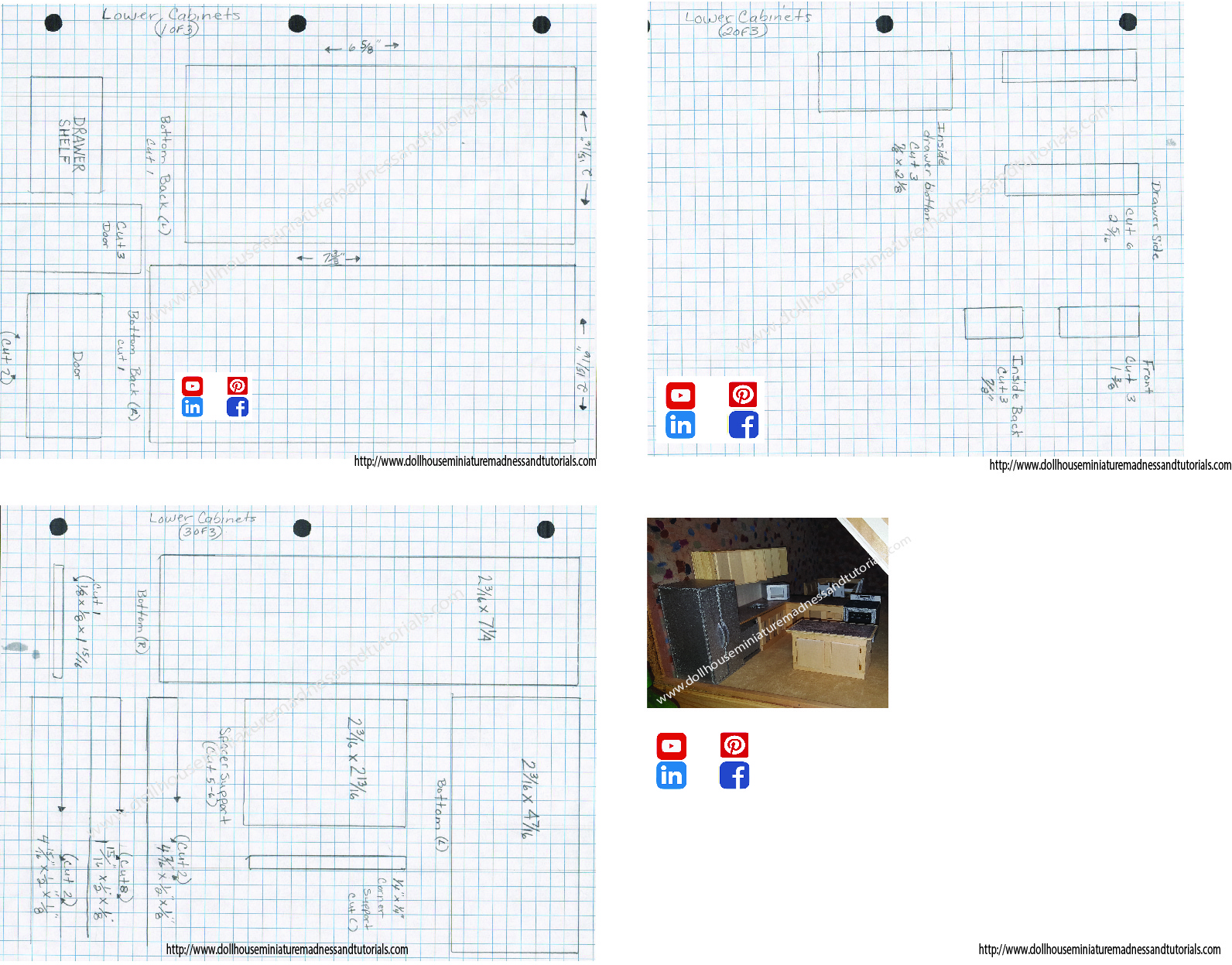 photo regarding Free Printable Dollhouse Furniture Patterns called Templates - Dollhouse Miniature Insanity and Tutorials